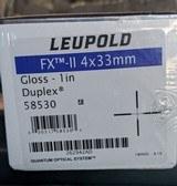 Leupold FXII 4X33 Gloss