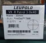leupold vx.r patrol 3 9x40 30mm illum.