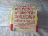 Original Winchester Definitive Proof Loaded 12 Ga Shot Shells - 1 of 6