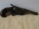 Moore's Pat. Fire Arms Co. Front Loading .32 Caliber Teat-Fire Single Action Revolver