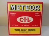 """METEOR C-I-L 12GA 2 5/8"""" PRIMED SHOTSHELLS"""