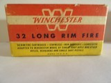 WINCHESTER 32 LONG RIM FIRE AMMO 50 ROUNDS