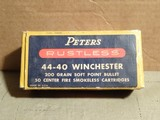 Peters Rustless 44-40 Winchester