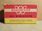 Winchester 405 Ammo for Winchester Model 95 Rifle - 1 of 10
