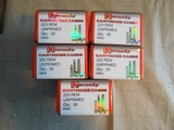 HORNADY CARTRIDGE CASES .223 REM NEW UNPRIMED BRASS - 5 BOXES - 2 of 5