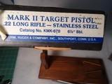 RUGER MARK 11 TARGET PISTOL S.S. - 6 of 7