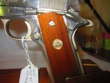 COLT 70 SERIES GOVERMENT MODEL NICKEL 45 ACP - 3 of 9