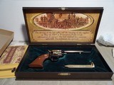 COLT FRONTIER SCOUT GOLDEN SPIKE NEW IN CASE