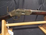 WINCHESTER MODEL 1873 38-40 RB WITH 63B TANG SIGHT - 2 of 11