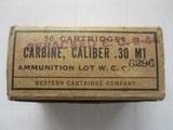 M1 CarbineWinchester markedGov't Issue