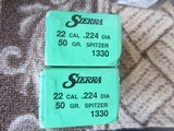 SIERRA 224 DIA 50 GRAIN
