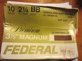 LISTED ARE 4 PARTIAL BOXES OF 10GA SHOTSHELLS