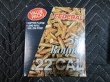 FEDERAL 22 LONG RIFLE AMMO