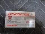 WINCHESTER 22 WIN MAG AMMO - 2 of 2