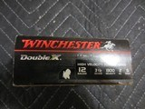 WINCHESTER DOUBLE X 12GA SHOT SHELLS - 1 of 2