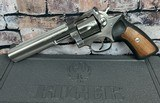 """Ruger GP100 Stainless .357 6"""" barrel - 2 of 7"""