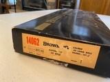 BROWNING SA-22 Grade I Boxed 95 1977 - 1 of 7