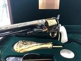 U.S. Historical Society Buffalo Bill Commemorative Colt Model 1860 .44 Caliber Percussion Revolver - 11 of 15