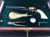 U.S. Historical Society Buffalo Bill Commemorative Colt Model 1860 .44 Caliber Percussion Revolver - 1 of 15