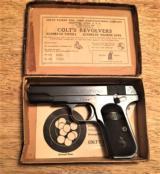 COLT Model 1903 .32 AutoOriginal Box