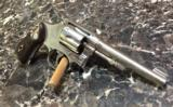 SMITH and WESSON Hand Ejector Nickel32 Long.