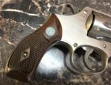 SMITH and WESSON Hand Ejector Nickel32 Long. - 4 of 10