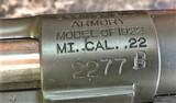 Springfield Model 1922M1 cal .22 Training Rifle