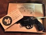 Colt Army Special Original Box .38