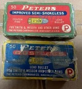 Peters .Vintage 32 Smith and Wesson Ammo. - 1 of 7