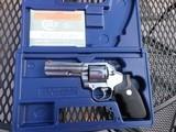 Colt King Cobra 4 inch brushed nickel