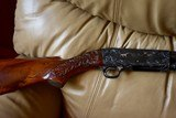 """Absolutely Gorgeous Very High Quality 1952 Highly Engraved Ithaca 37R 20 Gauge 28"""" Solid Rib Barrel Mod Choke 99%"""