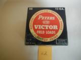 Peters Victors 12 ga.Paper Shotgun Shells - 1 of 1