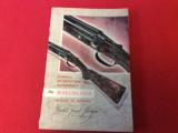 WINCHESTER MODEL 21INFORMATION & ORDERING BOOKLET - 1 of 5