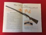 WINCHESTER MODEL 21INFORMATION & ORDERING BOOKLET - 3 of 5