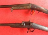FRENCH ANTIQUE PINFIRE RIFLE AND SHOTGUN - 5 of 7