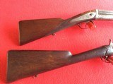 FRENCH ANTIQUE PINFIRE RIFLE AND SHOTGUN - 6 of 7