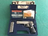 COLT 1911 SERIES 80 GOLD GUP ENHANCED MODEL BRIGHT STAINLESS