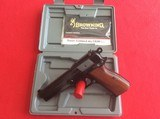 BROWNING HI-P0WER CAPTAIN MODEL 9MM - 1 of 4