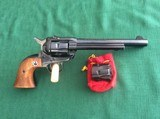 """RUGER SINGLE SIX 6 1/2"""" BARREL OLD MODEL CONVERTIBLE - 3 of 7"""