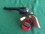 """RUGER SINGLE SIX 6 1/2"""" BARREL OLD MODEL CONVERTIBLE - 1 of 7"""