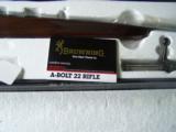 Browning A-Bolt 22 NIB W/Paperwork - 2 of 4