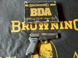 Browning BDA 45ACP NIB