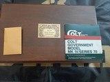 Colt John Browning 1911-1981 45ACP NIC - 5 of 5