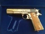 Colt John Browning 1911-1981 45ACP NIC - 4 of 5