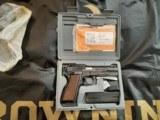 Browning 9MM Hi Power Capitan NIC