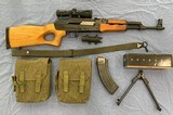 Norinco MAK-90 Sporter7.62x39 mmwith Scope and bipods
