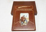 Leather Bound Rifleman's Rifle book by Roger Rule # 396 of 500 Excellent!