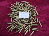 338 Lapua brass once fired 100pc