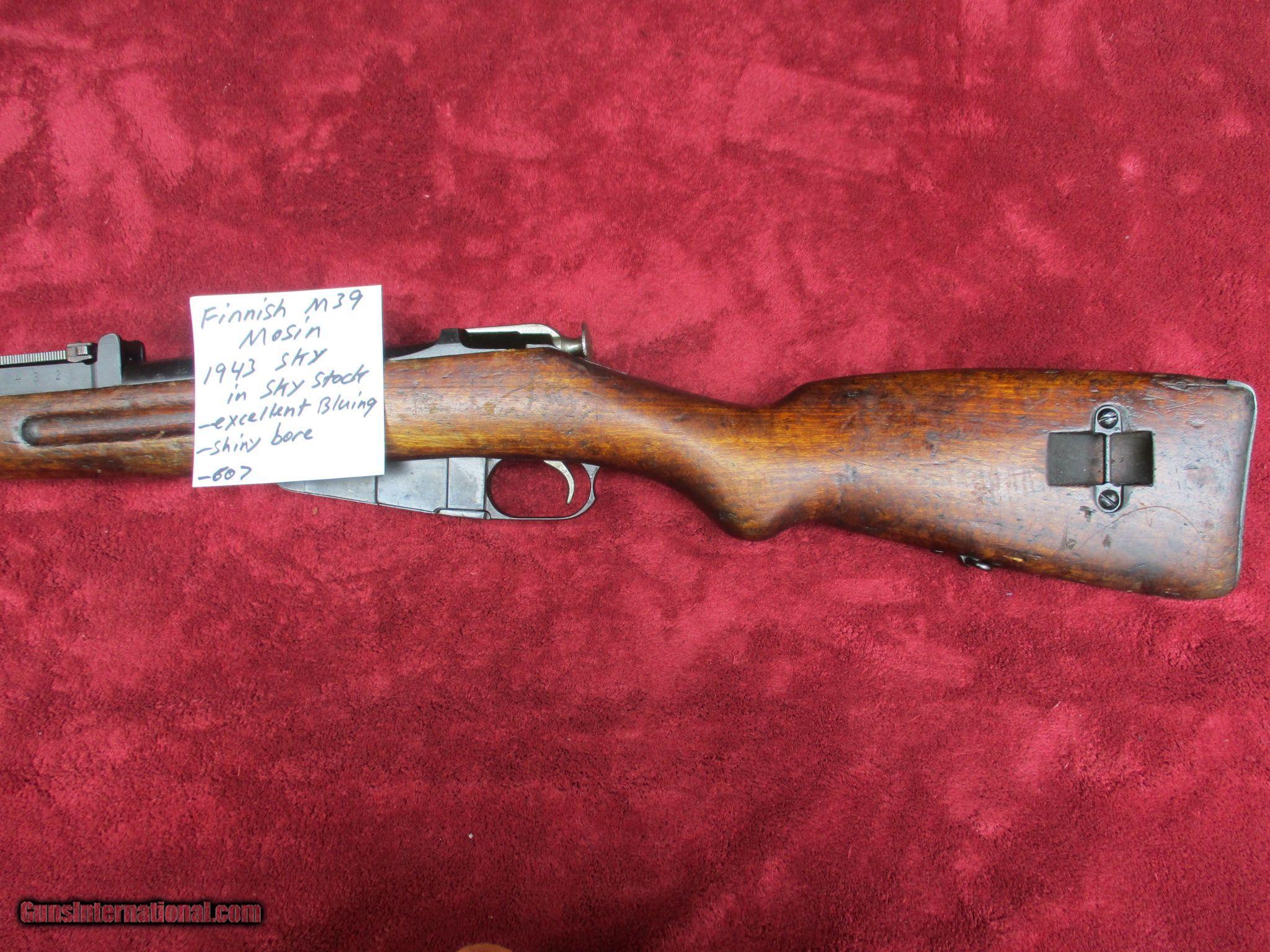 Finnish M39 Mosin Nagant 1943 Sky In Stock Parts Diagram 91 30 2 Of 14