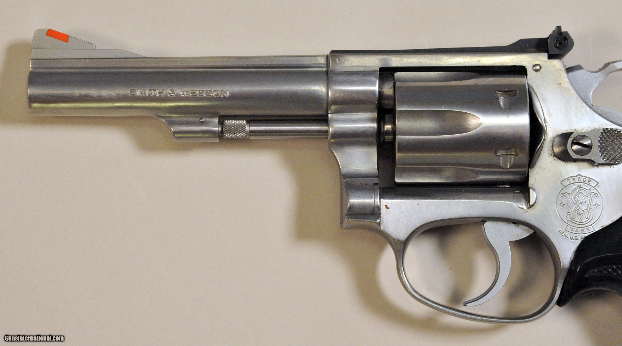 Smith & Wesson Model 63 with holster- #1407 for sale